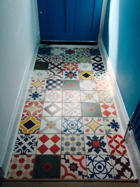 Patchwork Encaustic Cement Tiles