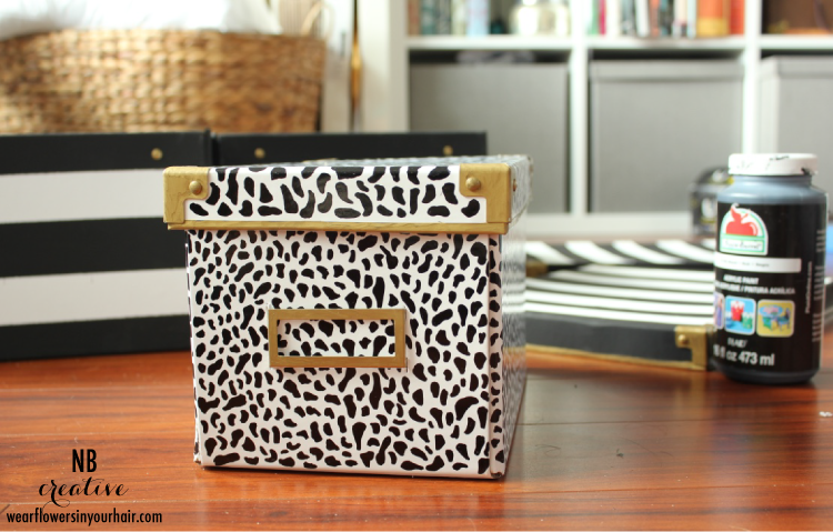 DIY Kate Spade Inspired Storage Boxes 2