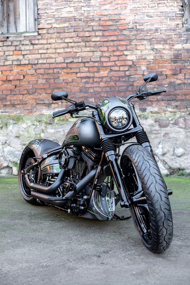 Harley Davidson Breakout Ranger By Nine Hills Motorcycles In 2020 Harley Davidson Motorcycles Road King Harley Softail Harley Davidson Fatboy Custom