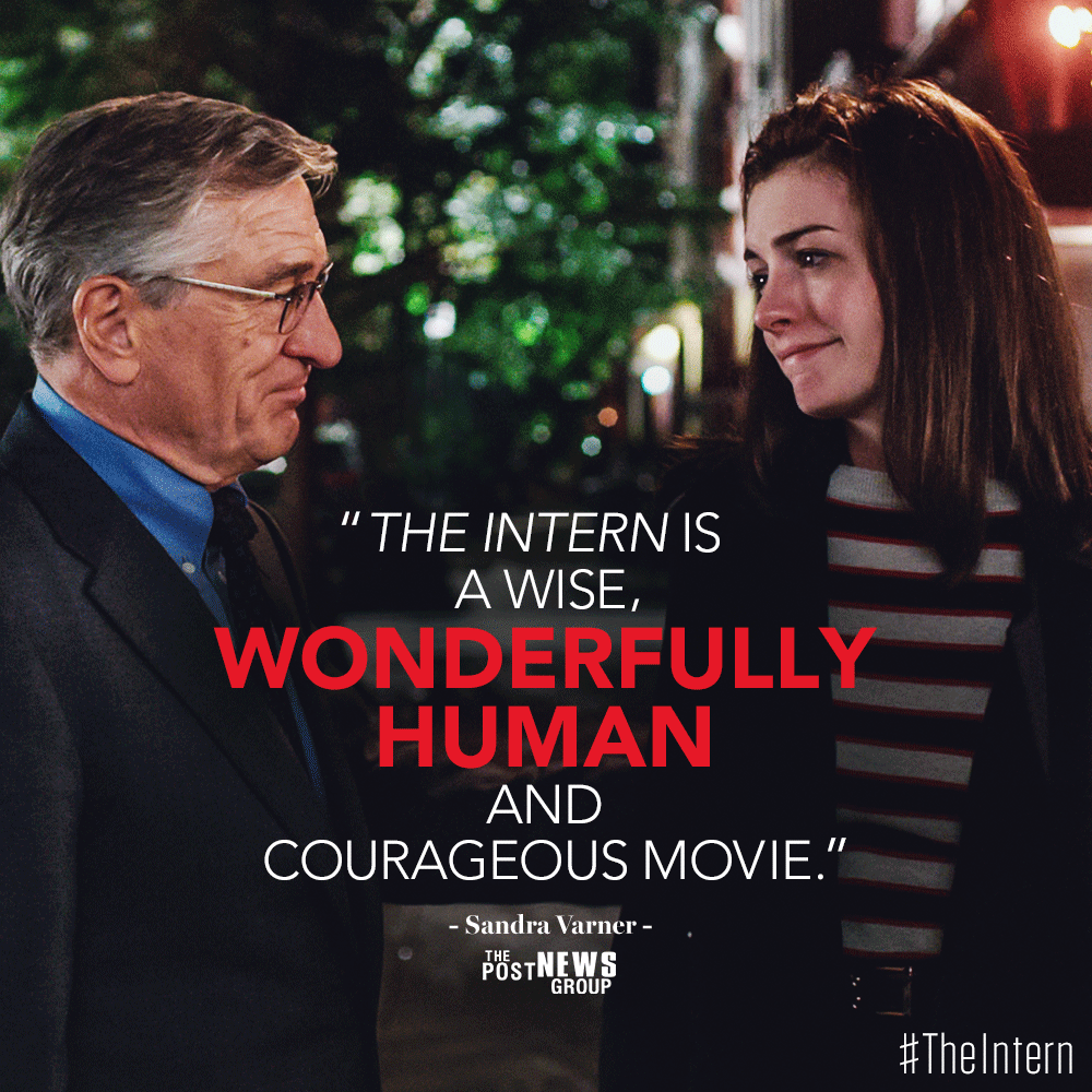 Everyone's talking about #TheIntern. Reserve your seats: http://bit.ly/interntix