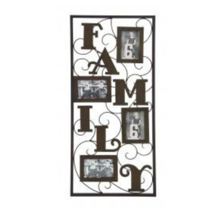 Family Metal Photo Frame from Teebee's Online Store for $59.95