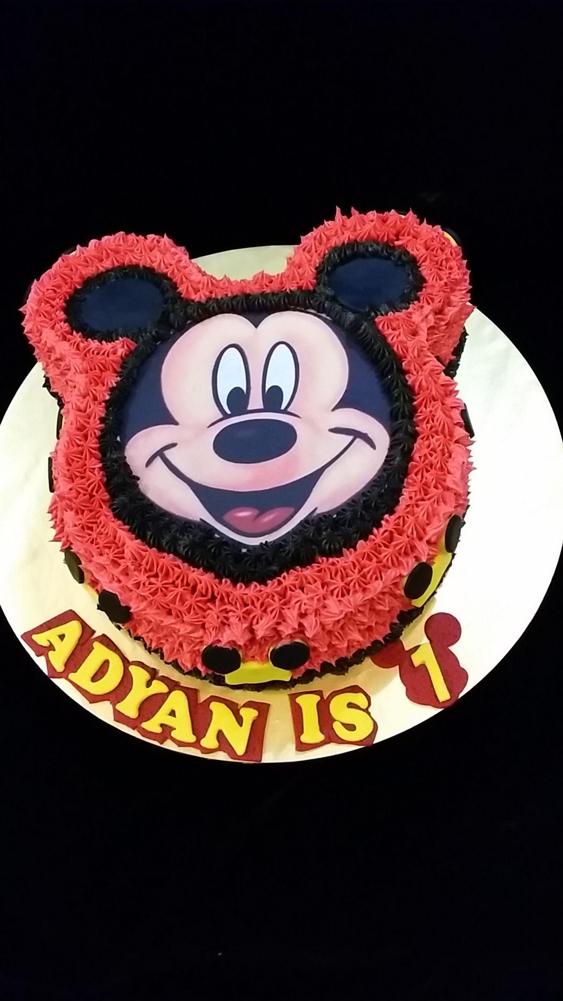 Mickey Mouse Chocolate Oreos Cake Mickeymouse Cake