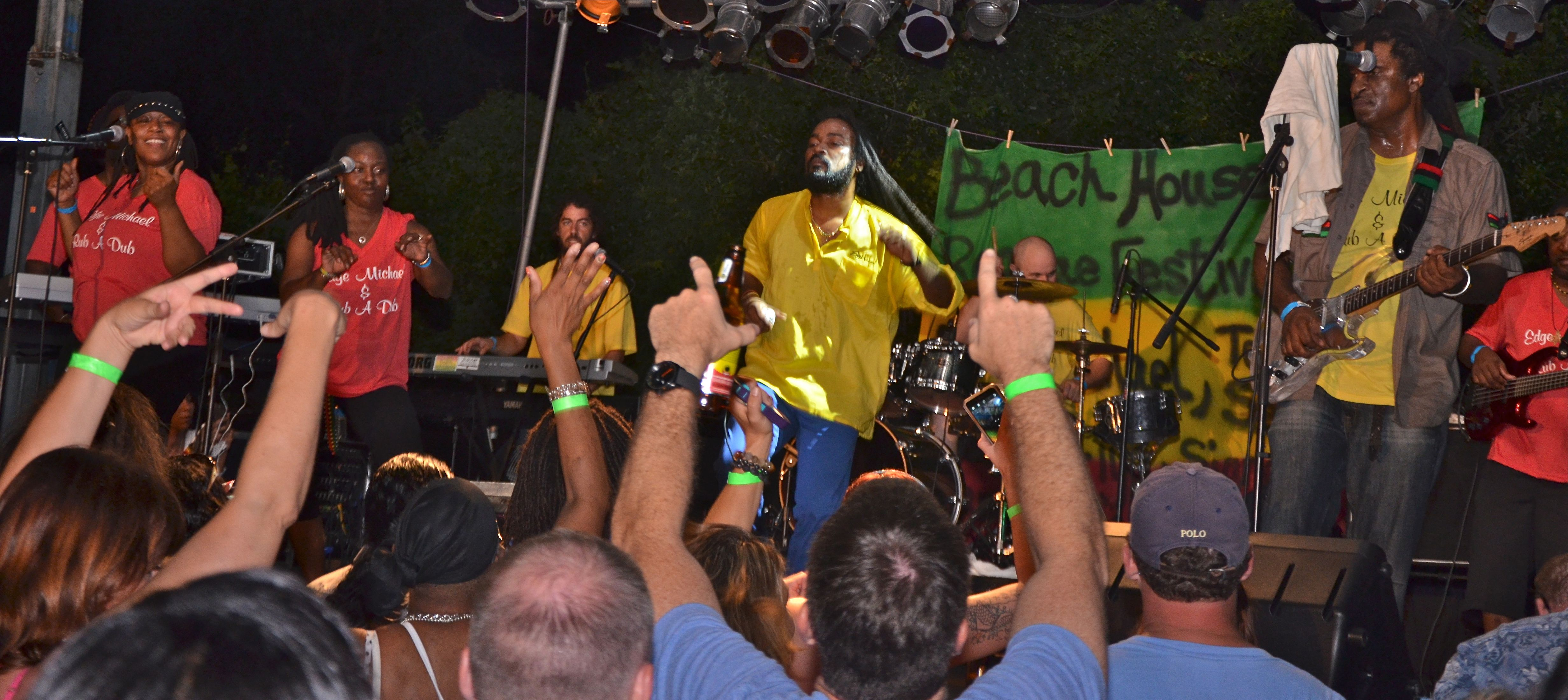first reggae festival in wilmington  with edge michael