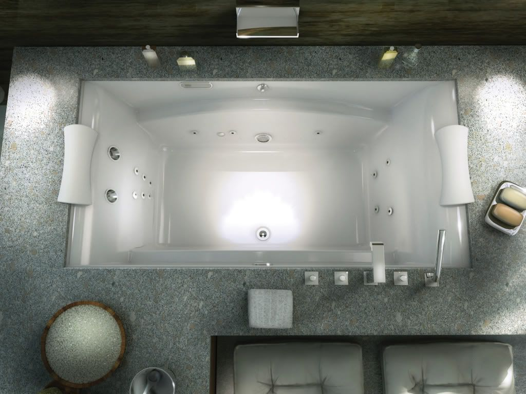 oval two person undermount whirlpool tub - Google Search | Home ...