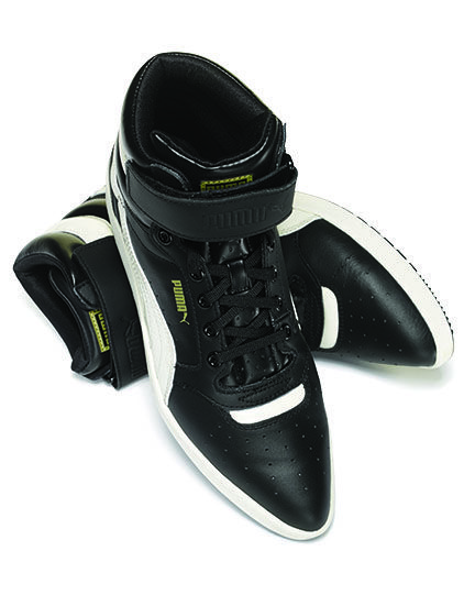c349ac732320 For the urbanite  Puma high-top sneakers...pointy toe sneakers   Who d have  thunk it!  Sharp!!