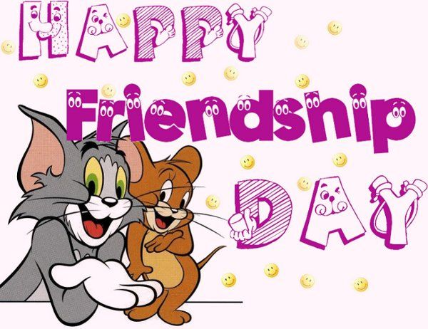 Superieur Happy Friendship Day Tom And Jerry Pictures With Funny Friendship Day Quotes  On Tom U0026 Jerry Pictures . Animated And Cartoon Images With Happy Friendship  Day