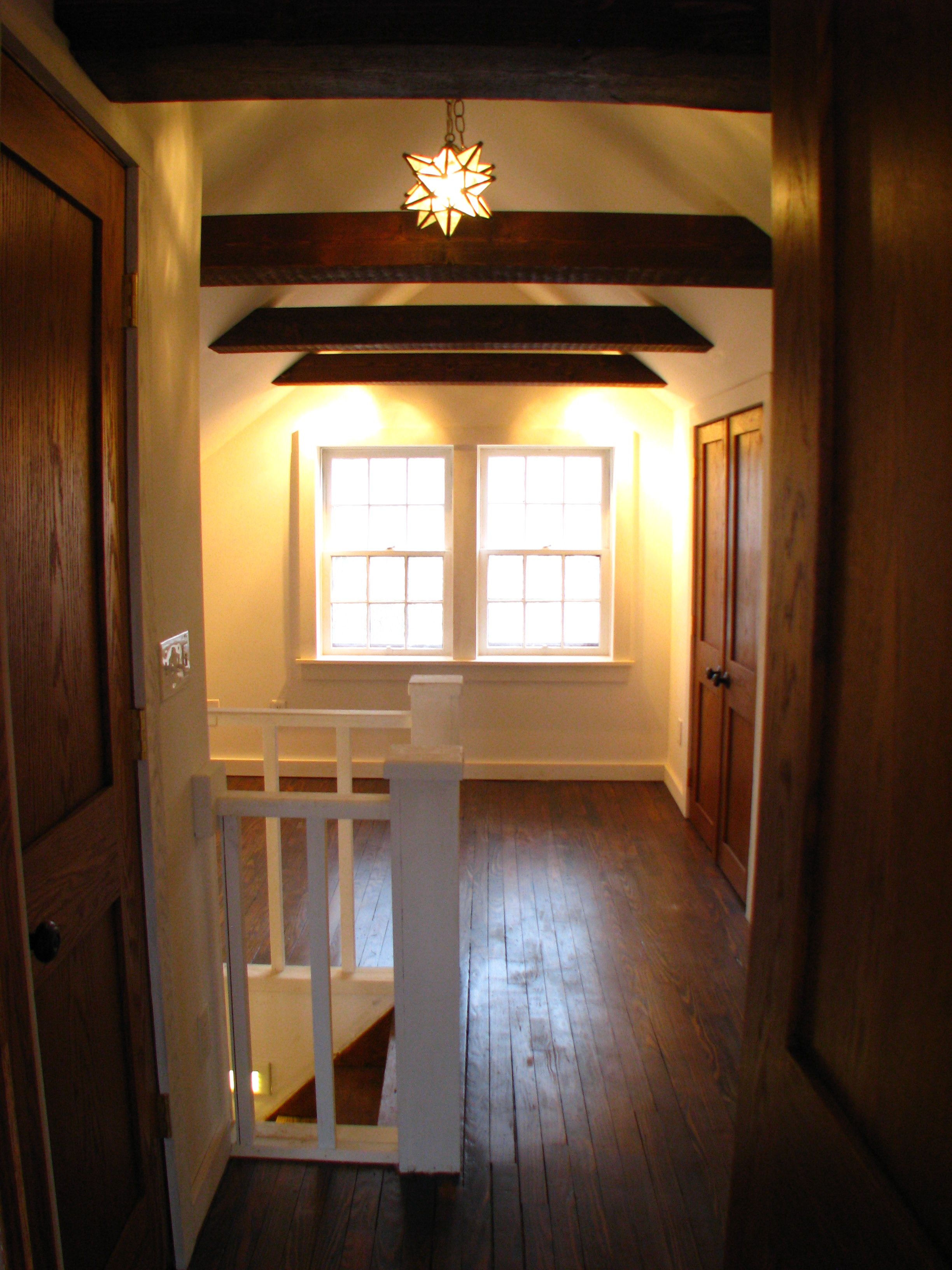 A Rebirth For A 1920s Cottage Cottage Attic Bathroom