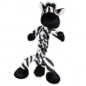 Kong Braidz Kong Braidz Zebra Dog Toy