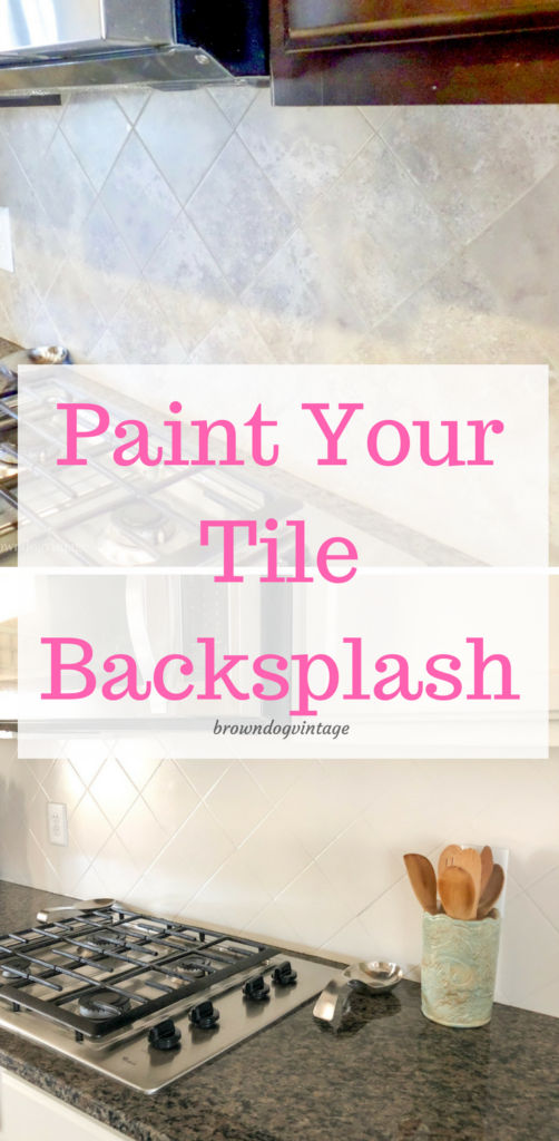 Painting Tiled Kitchen Backsplash  A Complete How To Guide is part of Painting kitchen tiles, Painting tile backsplash, Kitchen paint, Painting tile, Kitchen tiles backsplash, Painting kitchen cabinets - If you've considered painting tiled kitchen backsplash, this is the post for you  I'll show you how to do it, what to use, and how affordable it really is!