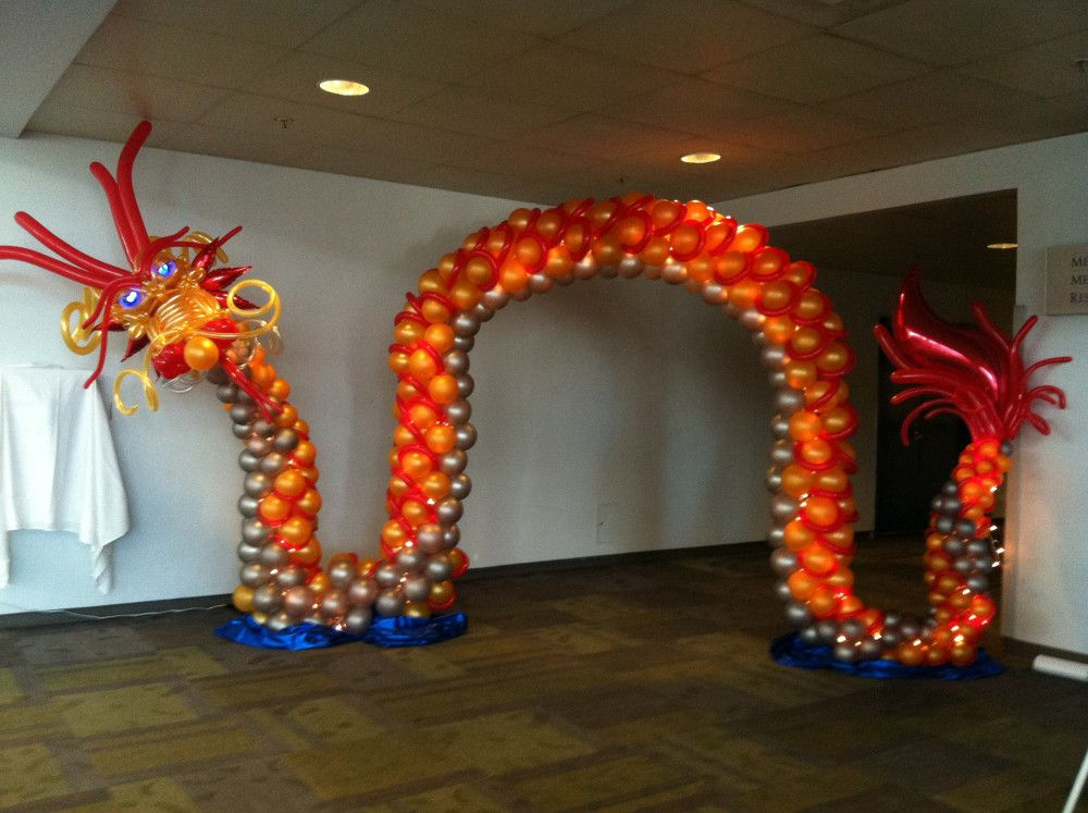 Visit the post for more. Dragon decor, Balloon