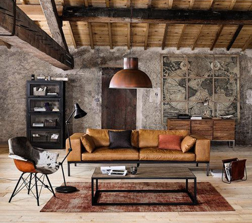 Contempory Living Room With Industrial Elements 22 Modern Living Room Ideas Modern Rustic Decor Living Room Modern Rustic Living Room Living Room Decor Rustic