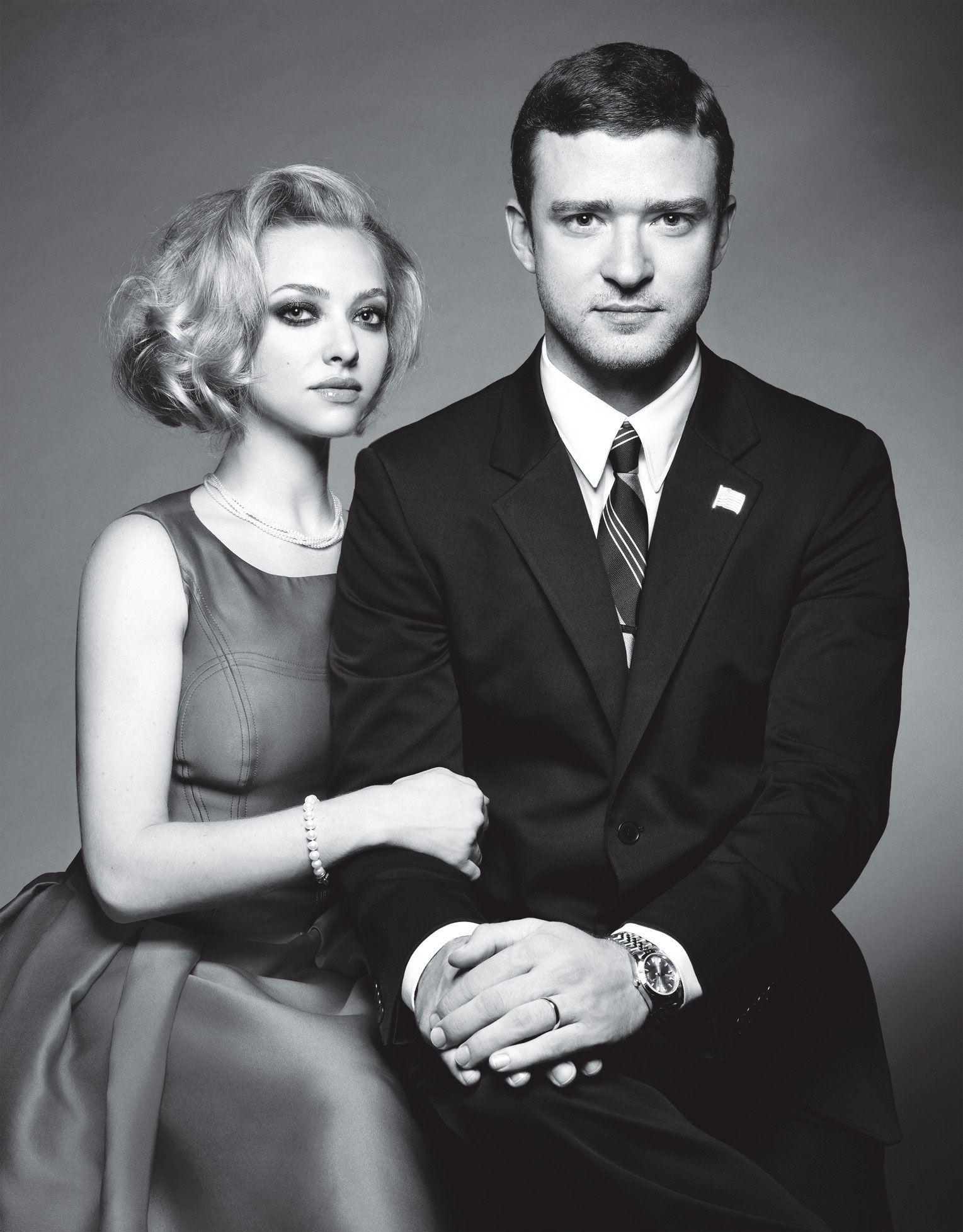 In Time UK Premiere Interviews - Justin Timberlake, Amanda
