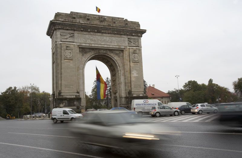 Capital city of Romania
