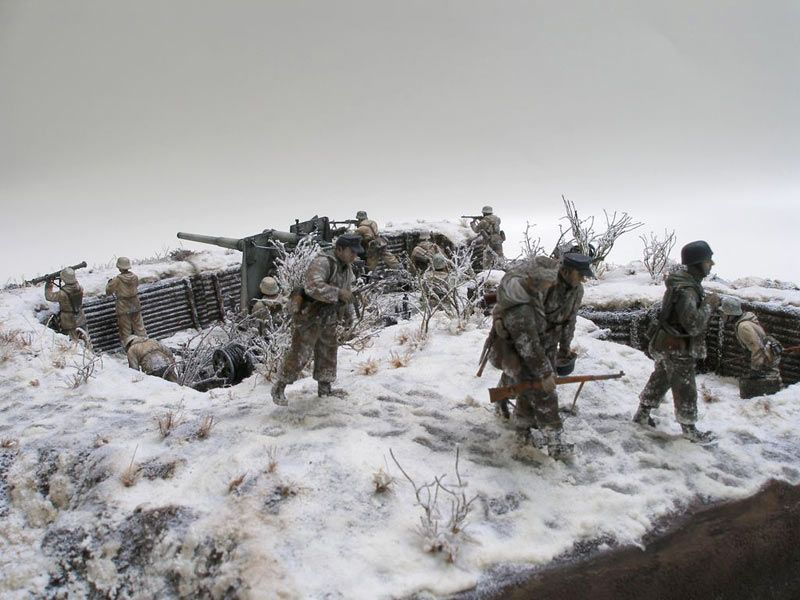 Dioramas and Vignettes: Winter episode of WWII, photo #5 ...