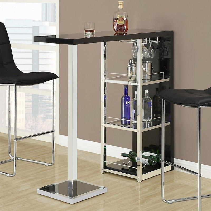 A Bar Table Can Be Perfect For Entertaining Or Finding Furniture For A  Small Space Like