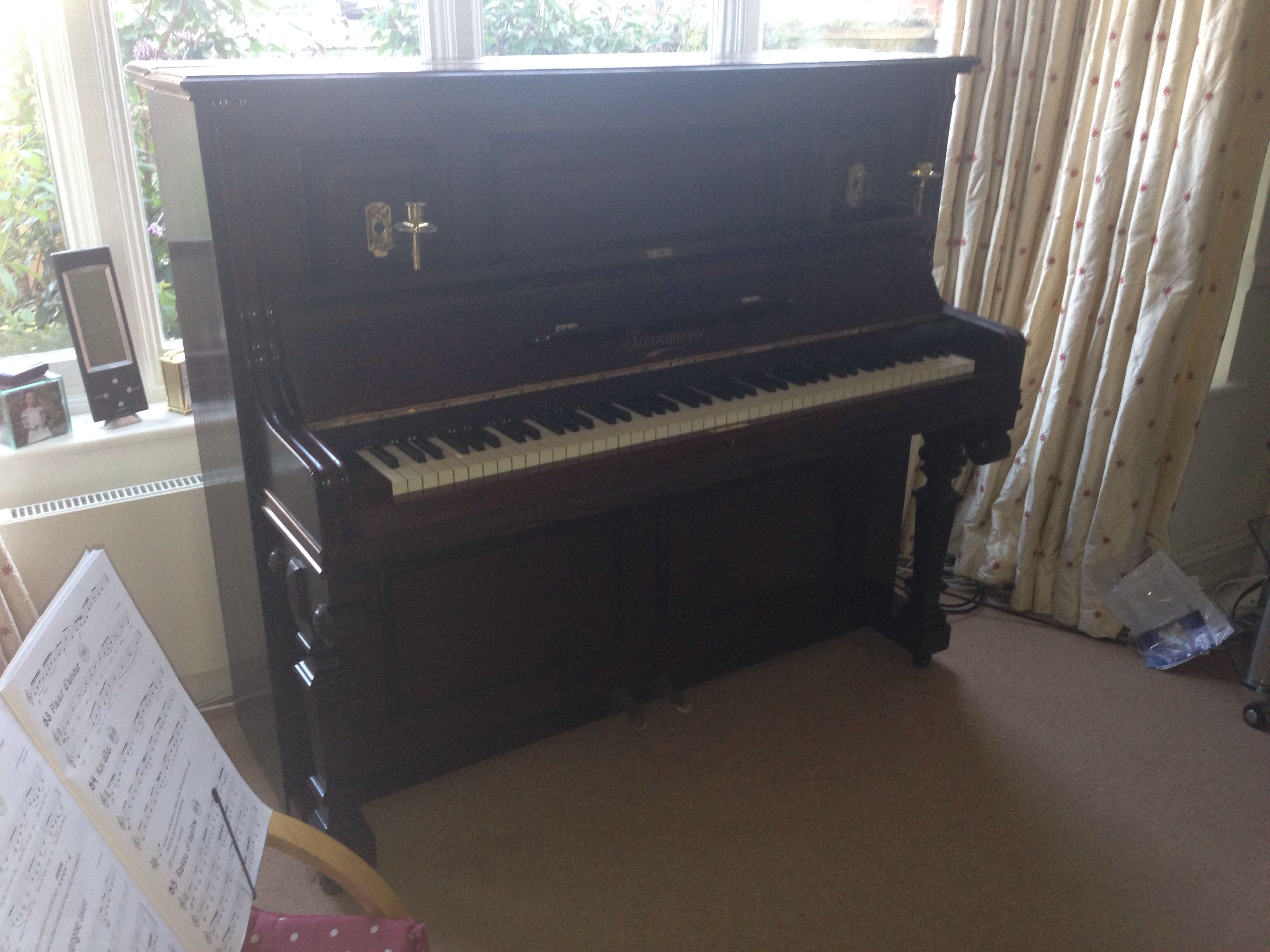 Terrific Antique Steinmayer Upright Restored By Chiltern Pianos Alphanode Cool Chair Designs And Ideas Alphanodeonline