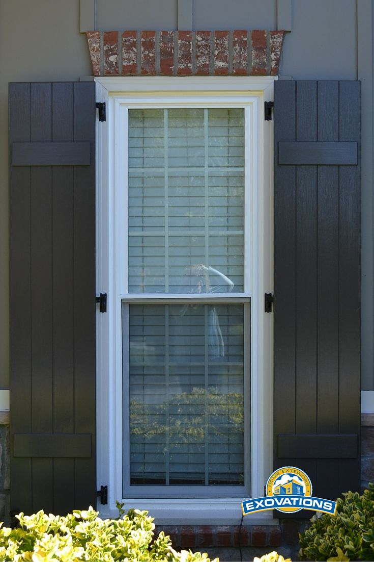 Dress Up Your Home S Exterior With New Shutters And Hardware And