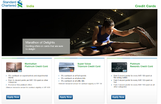 standard chartered bank rewards