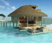 Six Senses Resort in Laamu, Maldives...i have fantasized about this place often!!!  my idea of one of heaven on earths spots. ;)