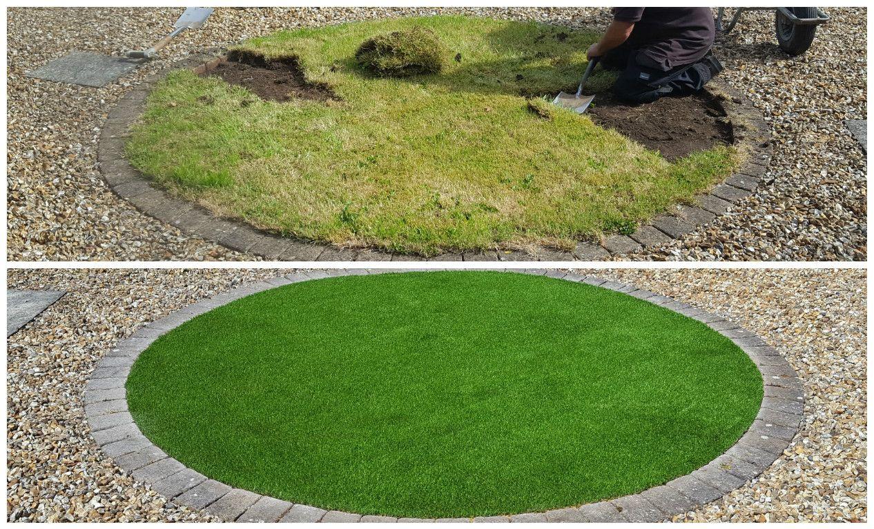 Can i lay artificial grass on soil artificialgrass