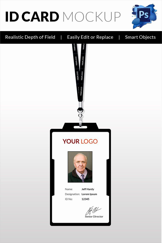 Id Card Template Word Beautiful 30 Blank Id Card Templates Intended For Id Card Template Word Free Id Card Template Employee Id Card Business Card Template Psd
