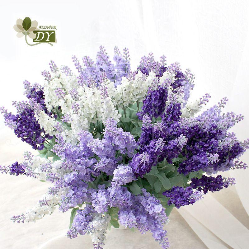 Popular Lavender Wedding Bouquet Buy Cheap Lavender Wedding Flores Baratas Para Casamento Decoracoes De Casamento Artesanais Centro De Mesa Com Flores