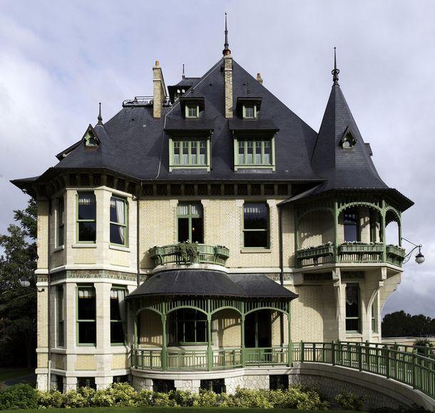 Art Nouveau - Villa Demoiselle -  Reims