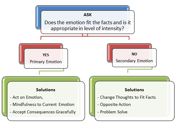 Dbt Skills Working With Primary Secondary Emotions Dbt Skills Emotion Chart Emotions