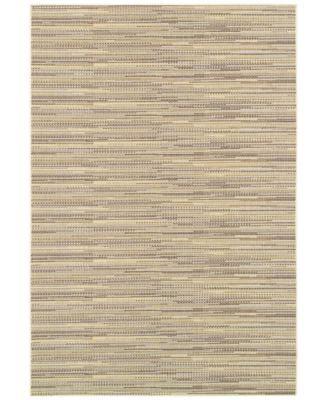 "Couristan Indoor/Outdoor Area Rug, Monaco 2471/1016 Larvotto Sand-Multi 5'10"" x 9'2"""