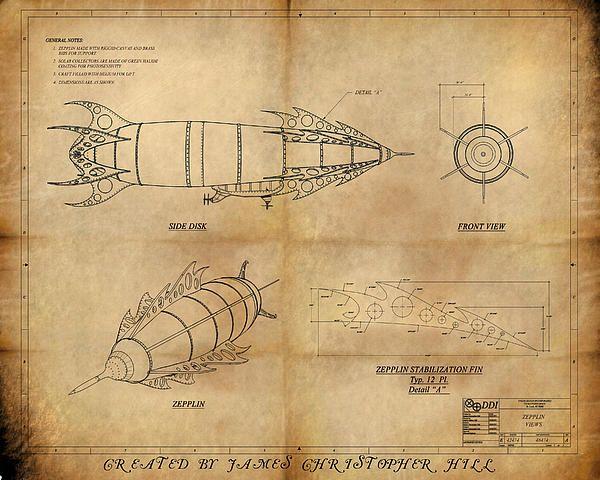 Zeppelin blueprint for sale on fine art america steampunk pinterest zeppelin blueprint for sale on fine art america malvernweather Images