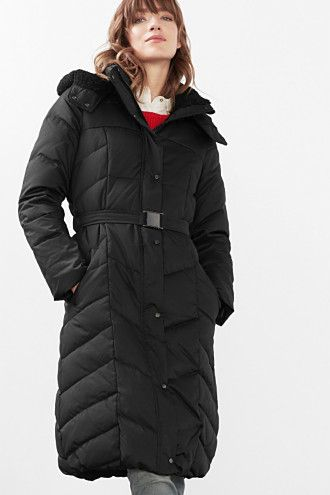 Nice Long Down Esprit Coat, Just Above Knee Length, Doesn'T Look
