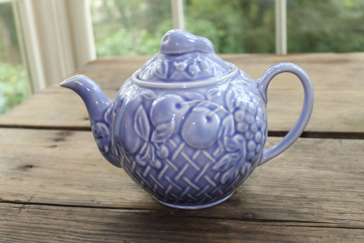 Beautiful Teapot Beautiful Wade Blue Teapot From Southern Vintage Rental