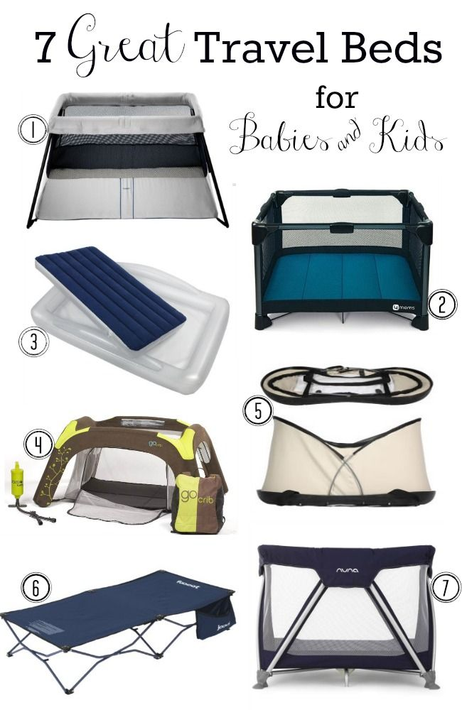 7 Great Travel Beds For Babies Kids Toddler Travel Bed