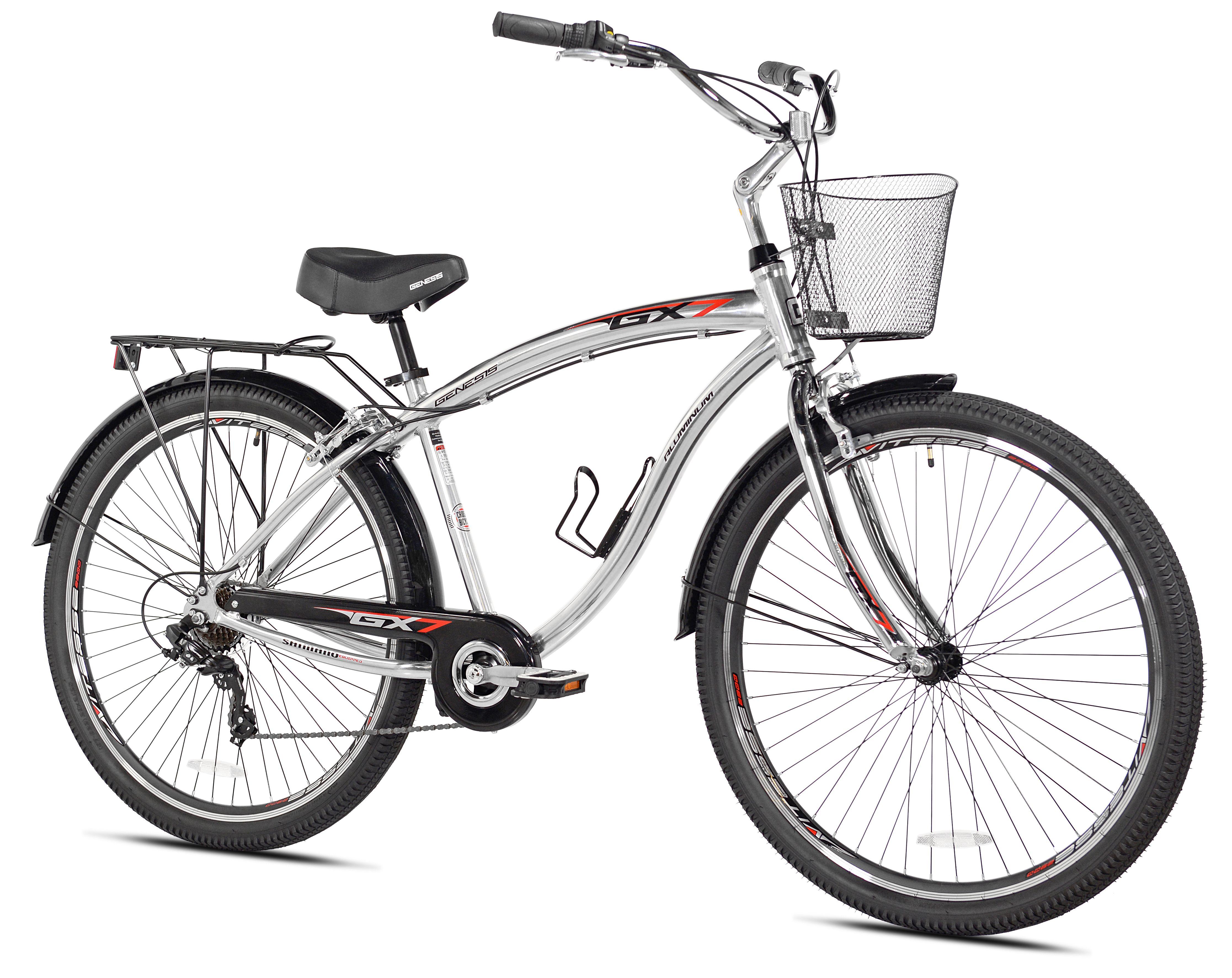 Genesis 29 Men S Gs7 Multi Speed Cruiser Bike Men Genesis Cruiser