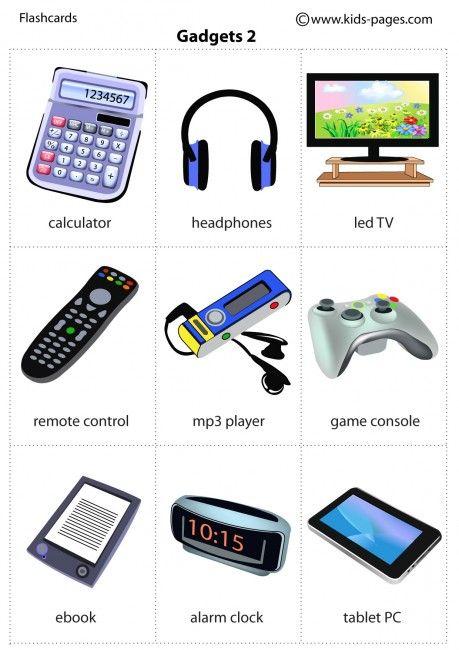 Gadgets 2 flashcard