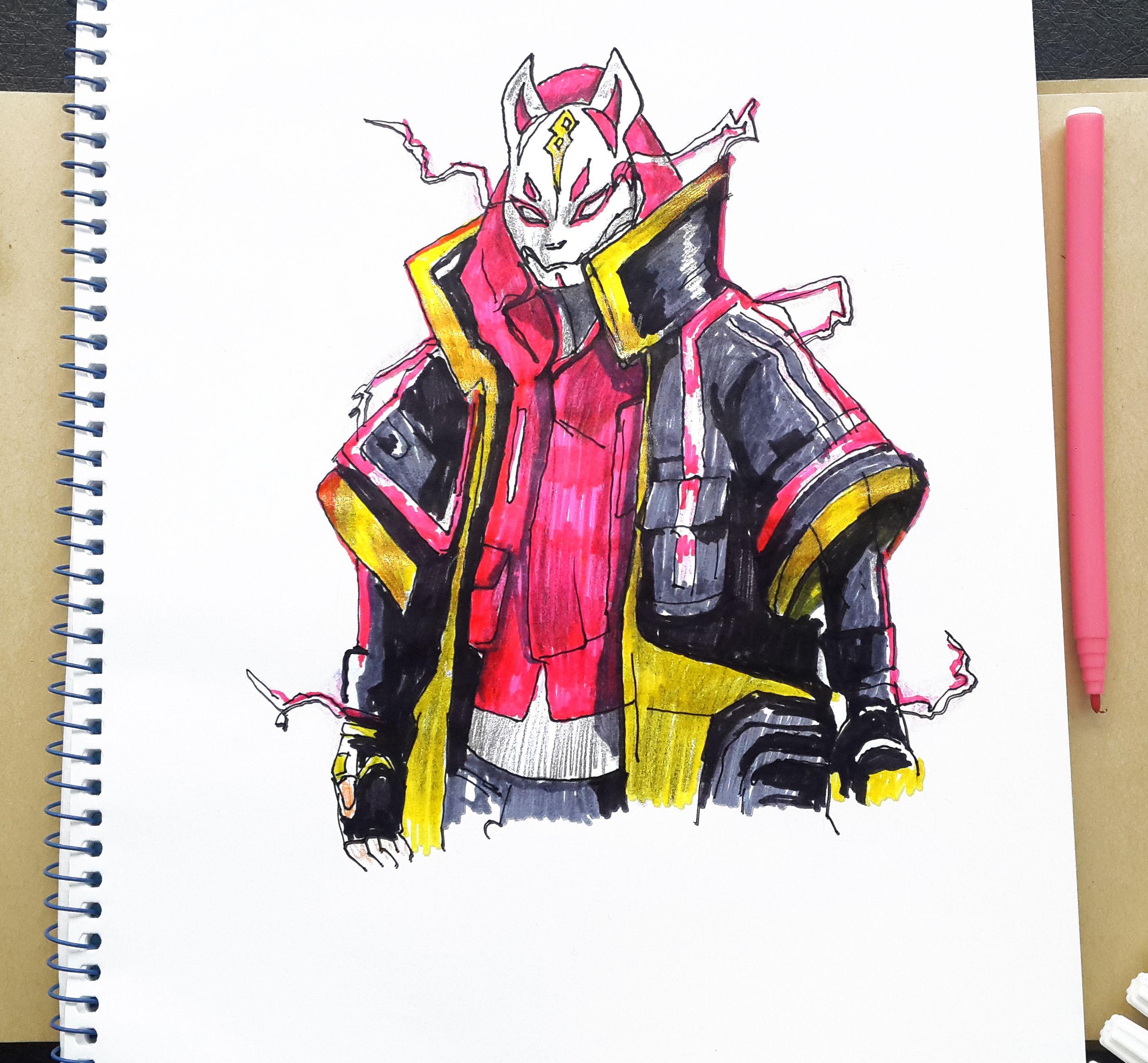 Drift Fortnite Max Level Fortnite Character How To Draw Art