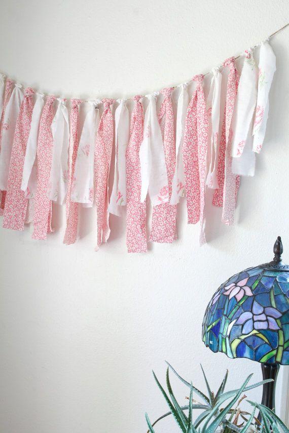Baby Shower Decor Baby Shower Garland Girls Room by SweetHavenn