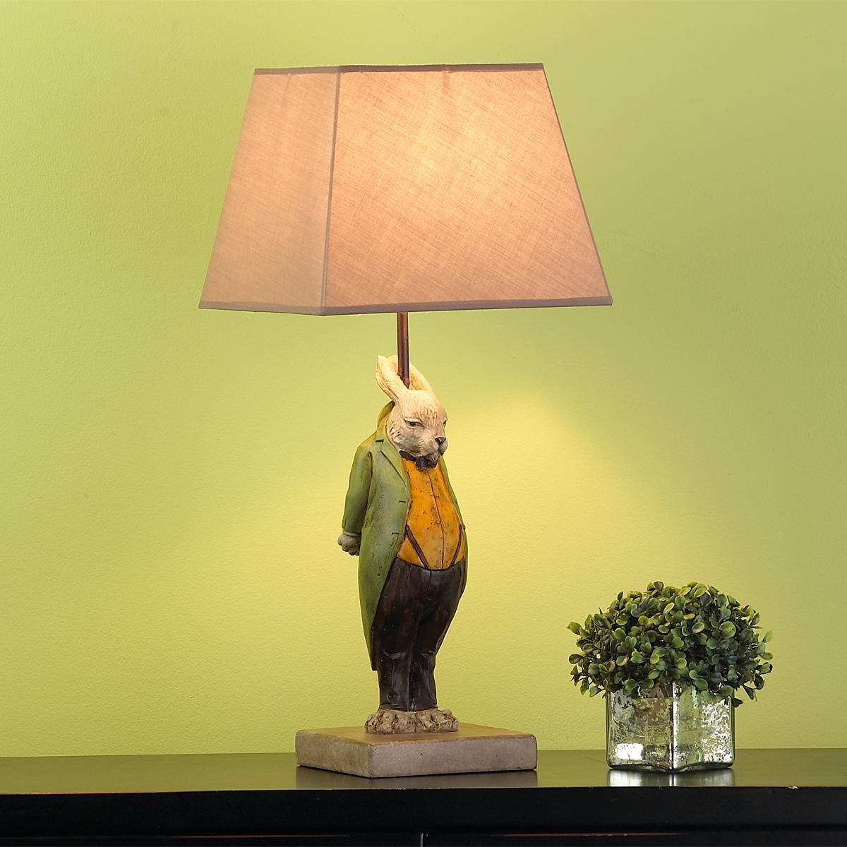 Mr rabbit table lamp rabbits remind me of one of my good friends mr rabbit table lamp rabbits remind me of one of my good friends aloadofball Image collections