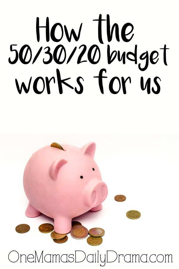 How the 50/30/20 budget plan works for us Budgeting, 50th and 30th