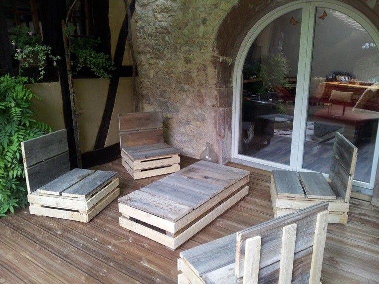 Mobiliario De Jardín Con Palets Exclusividad En Tu Patio