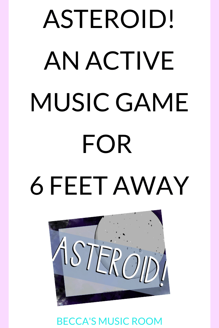 How to Play Asteroid! An Active Rhythm Game - Becca's Music Room