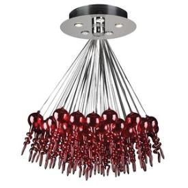 PLC Lighting 96949 RED Dolce - Five Light Chandelier