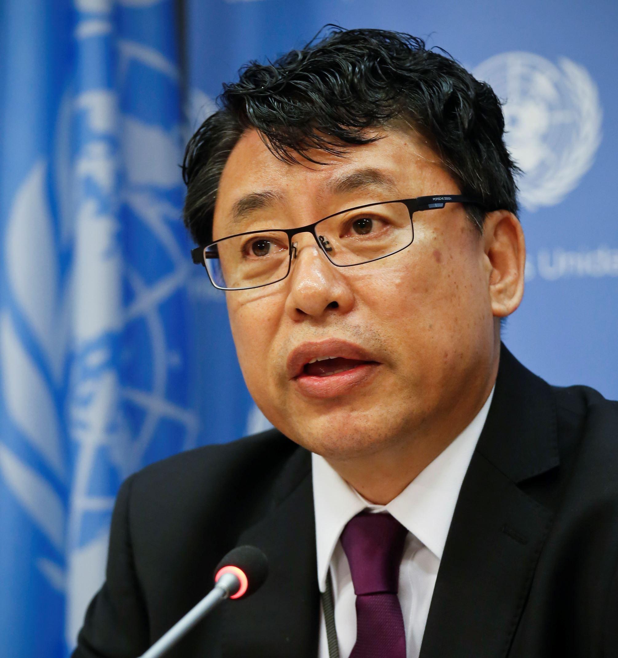 North Korea's deputy U.N. ambassador accused the United