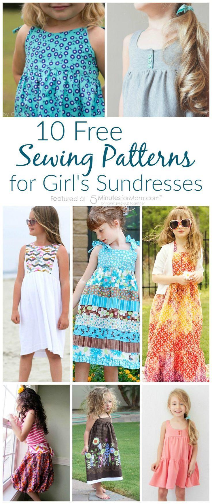 10 fabulous and free sewing patterns for girls sundresses 10 fabulous and free sewing patterns for girls sundresses jeuxipadfo Gallery