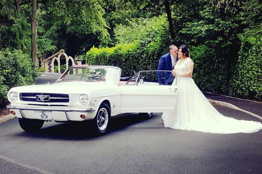 Convertible Mustang Wedding Car Ni Wedding Car Wedding Car Hire Bridal Car
