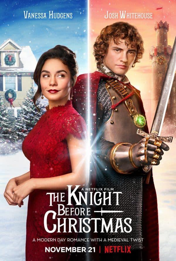 The knight before Christmas - Netflix tip - Huisvlijt   Kerstfilms, Film, Vanessa hudgens