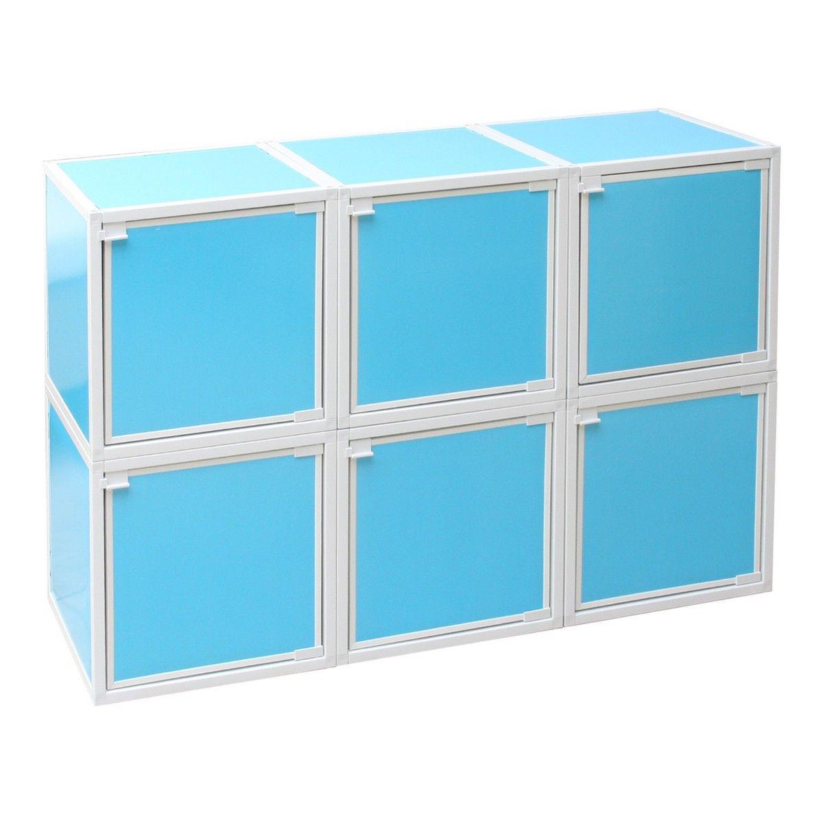 Modular Box Blue Set Of 6