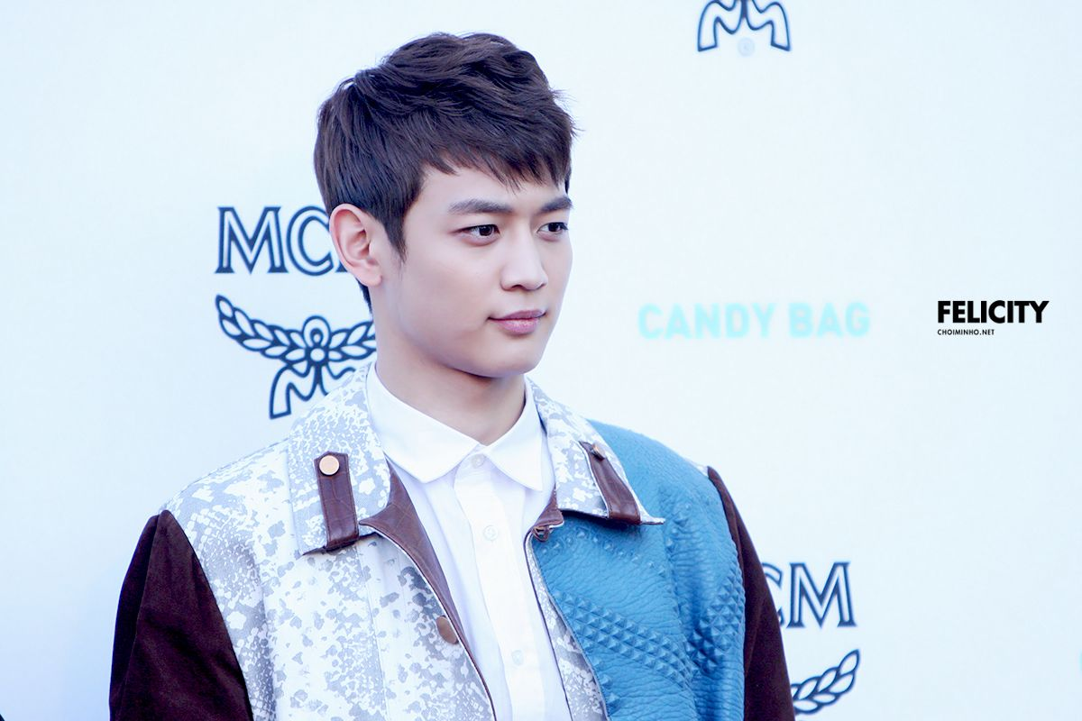 Minho (SHINee) @ MCM Candy Bag Party 13.03.29 ~ Source : choiminho.net/