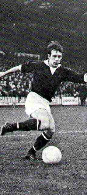 Roald Jensen of Hearts in 1969.