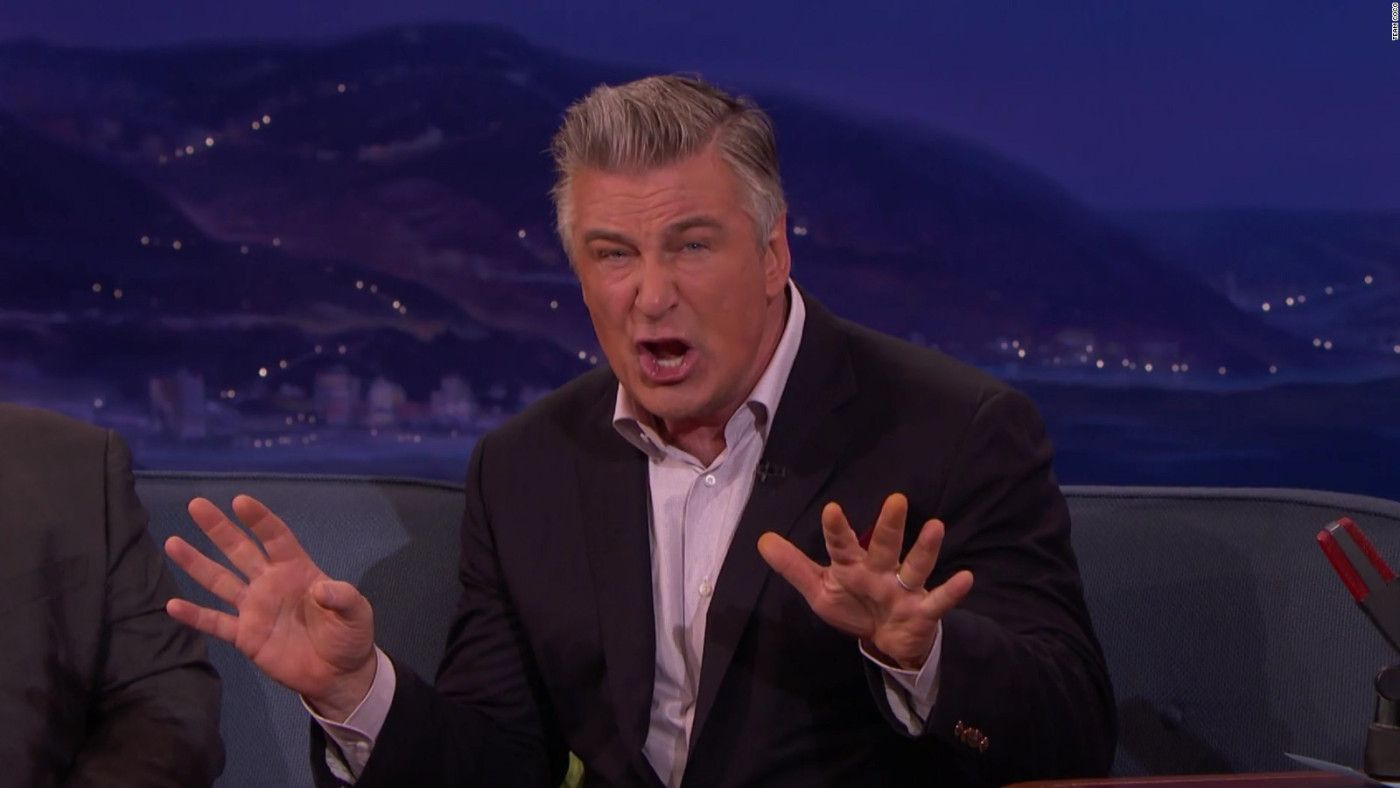 Alec Baldwin's Al Pacino  impersonation - https://johnrieber.com/2017/05/08/alec-baldwins-hilarious-al-pacino-impersonation-robert-deniro-and-james-caan-too/